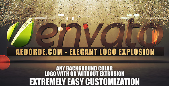 Videohive Elegant Logo Explosion 802771