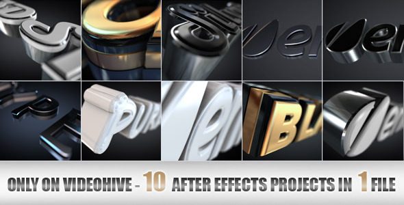 Videohive Elegant and Modern Logo or Text Opener