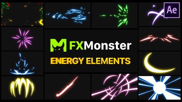Videohive Energy Elements 27597343