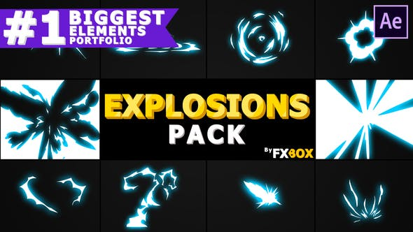Videohive Energy Explosions And Transitions 21258276