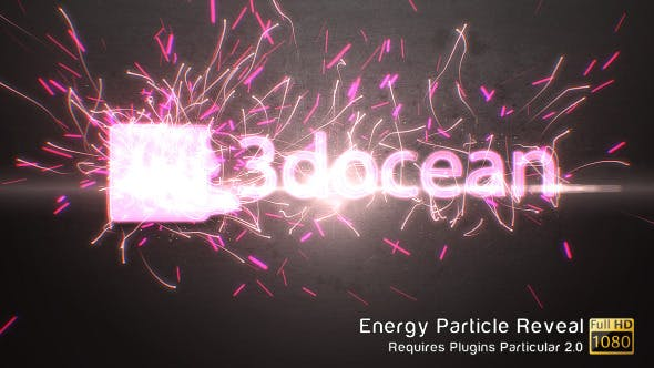 Videohive Energy Particle Reveal 4110190