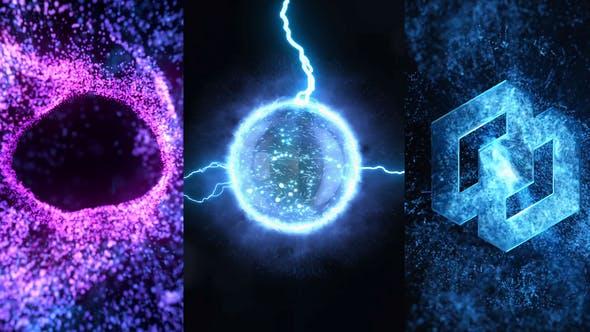 Videohive Energy Vortex Logo Reveal 25024026