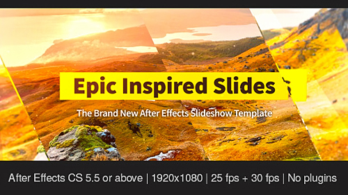 Videohive Epic Inspired Slides
