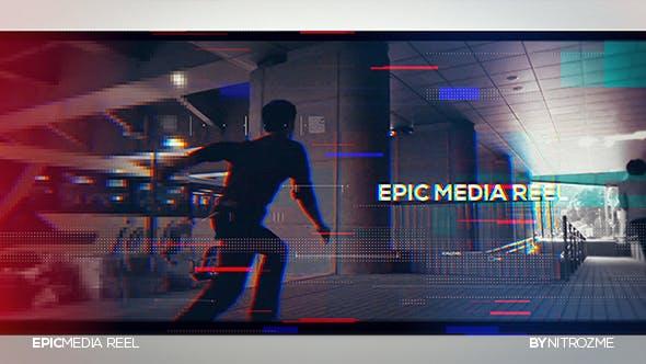 Videohive Epic Media Reel 20398262