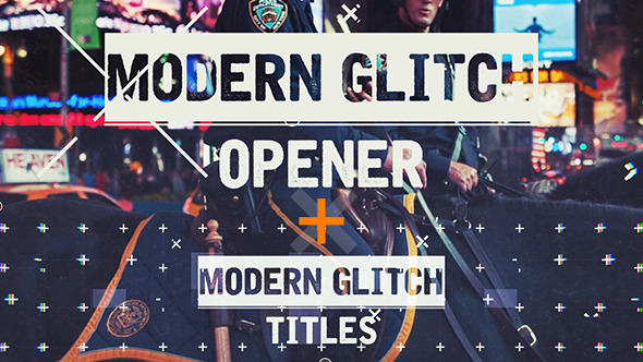 Videohive Epic Modern Glitch Opener 11468287