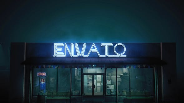 Videohive Epic Neon in The Street 19227699