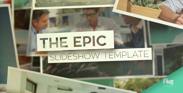 Videohive Epic Slideshow 15260107