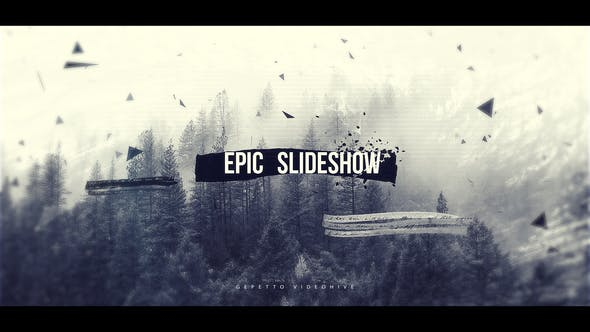 Videohive Epic Slideshow I Opener 21836099