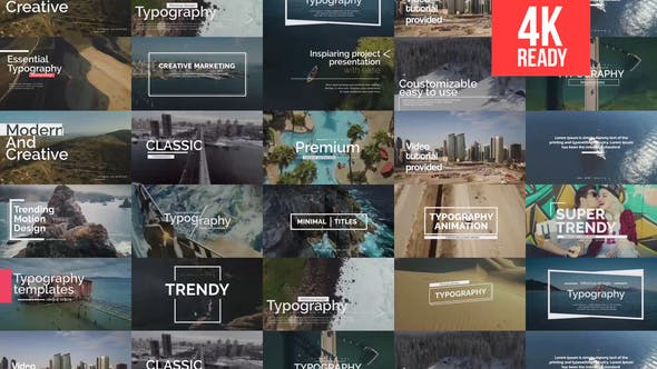 Videohive Essential Titles V.1 22134589