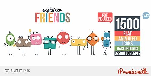 Videohive Explainer Friends v13 17591397