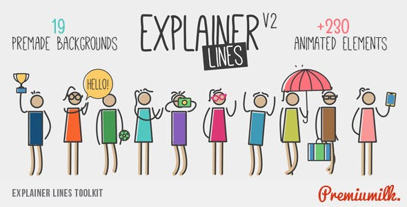 Videohive Explainer Lines Toolkit 10550639