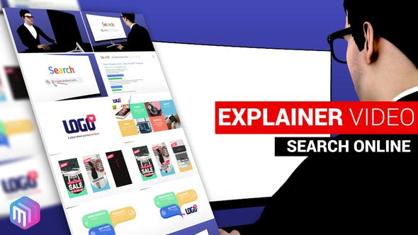 Videohive Explainer Video Search and Find Online 26373914