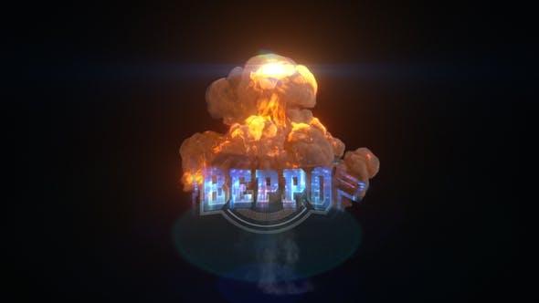 Videohive Explosion Glitch Logo 26977426