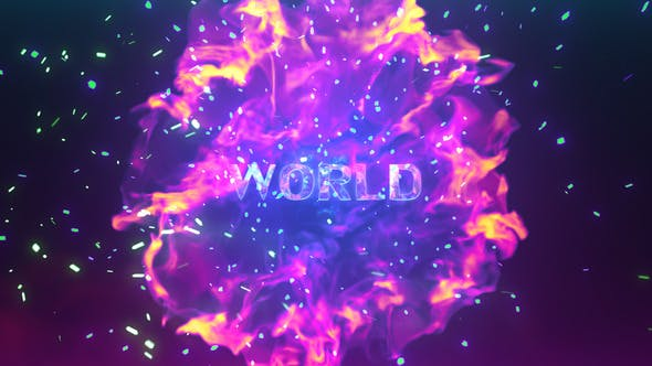 Videohive Explosive Particles 20737563