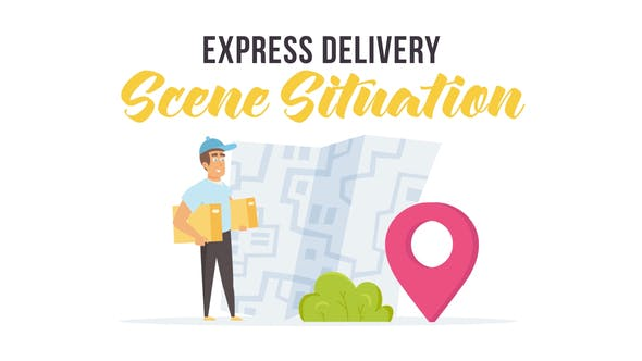 Videohive Express delivery - Scene Situation 27597171