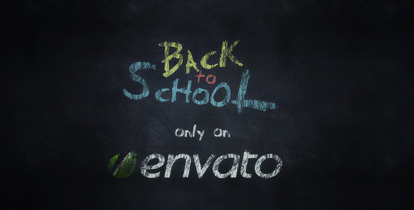 Videohive Expresso Back To School