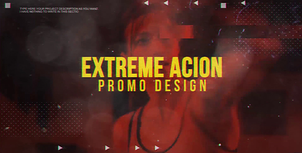Videohive Extreme Action Promo 19188828