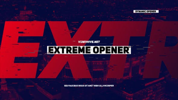 Videohive Extreme Opener 21531352