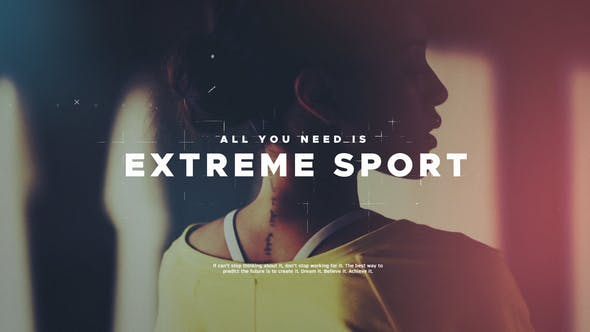 Videohive Extreme Sport 22048101
