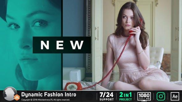 Videohive Fashion Intro 21430581