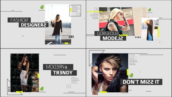 Videohive Fashion Media Opener 13678271