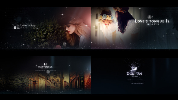 Videohive Fashion Particles - Fresh Postcard Opener