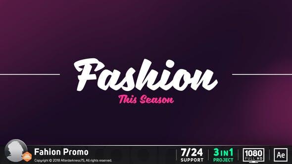 Videohive Fashion Promo 19239640