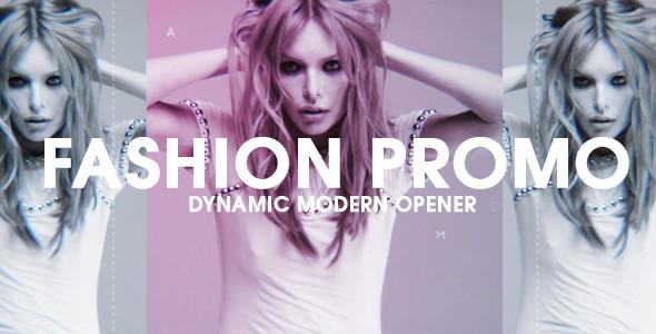 Videohive Fashion Promo Dynamic Opener 18001701