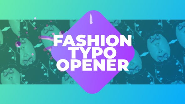 Videohive Fashion Typo Opener 21569548
