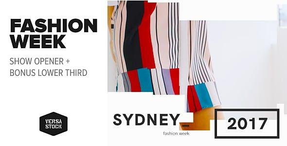 Videohive Fashion Week Opener 19686824