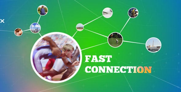Videohive Fast Connection Intro 19480959
