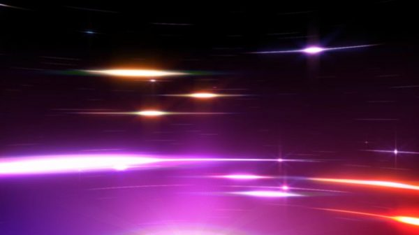 Videohive Fast Curved Multicolor Streak Lights HD 103896