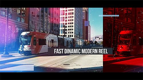 Videohive Fast Dinamic Modern Reel 19701025
