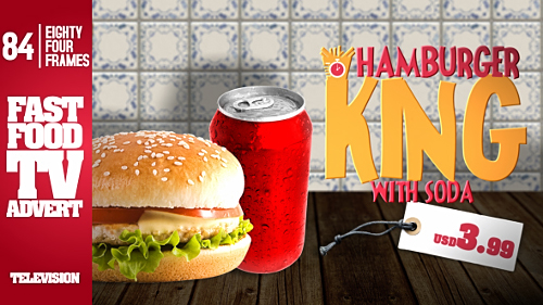 Videohive Fast Food Restaurant TV Commercial 15400349