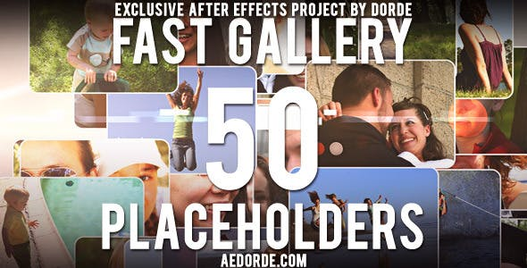 Videohive Fast Gallery 1322787