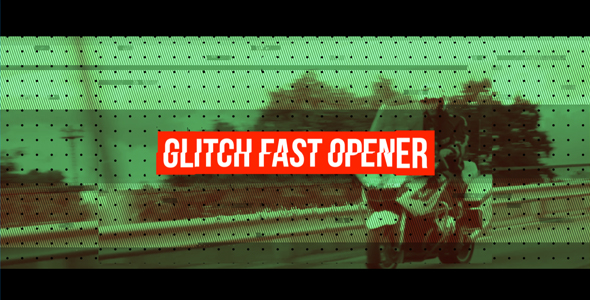 Videohive Fast Glitch Opener 20539888