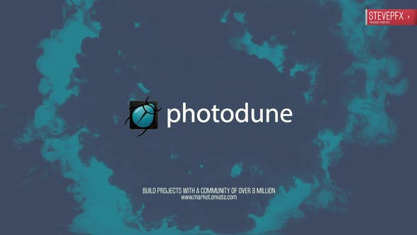 Videohive Fast Ink Drop logo 11885321