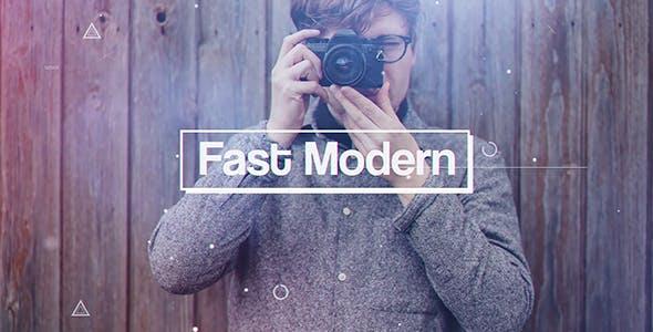 Videohive Fast Modern 21364296