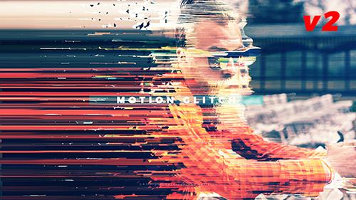 Videohive Fast Motion Glitch Slideshow 20449412