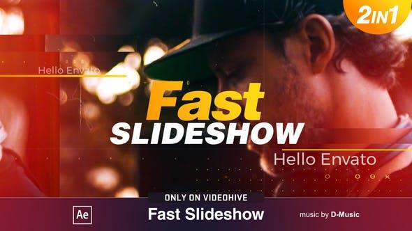 Videohive Fast Slideshow 21926306