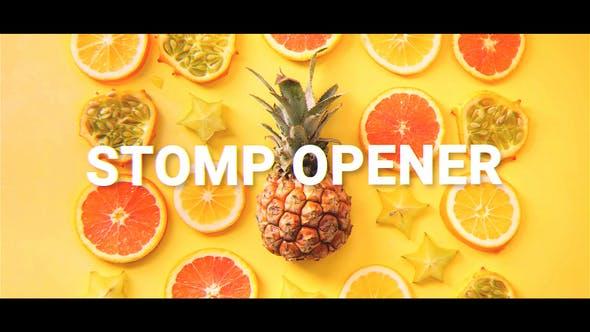 Videohive Fast Stomp Opener 22838021