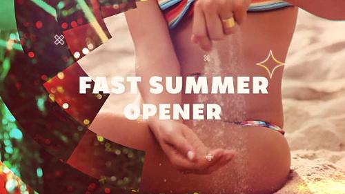 Videohive Fast Summer Opener 20037251