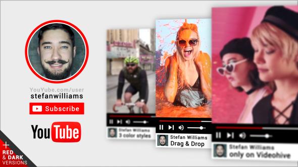 Videohive Fast YouTube Promo Intro 19707480