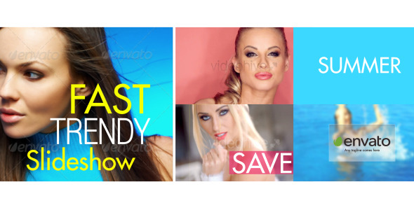 Videohive Fast and Dynamic Slideshow 11433226