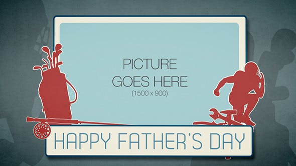 Videohive Fathers Day Animation 4740057