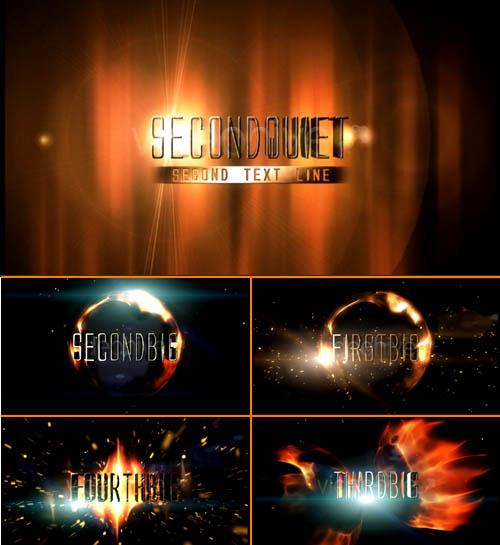 Videohive Fiery Trailer 70034