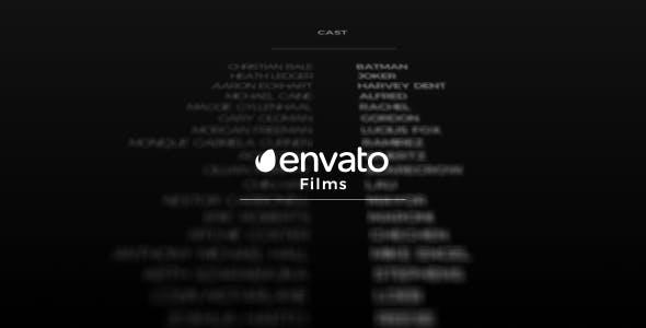 Videohive Film Credits 19987952