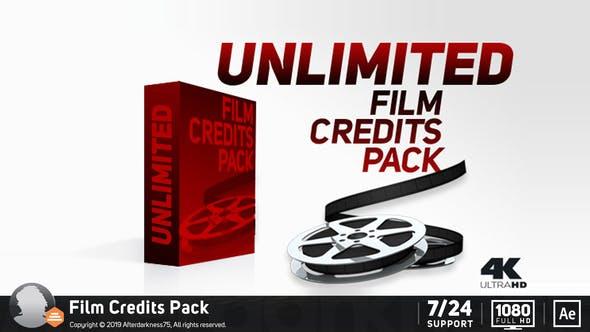 Videohive Film Credits Pack 11227612