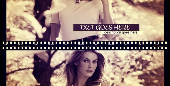 Videohive Film Fashion Slide