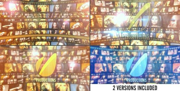Videohive Film Strip Cinematic Logo 5291847